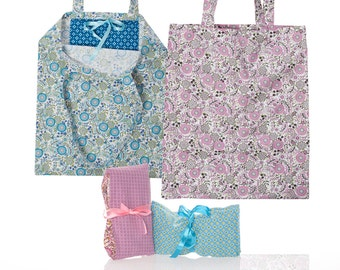 BBS 116 tote bag sewing patterns/photo instructions