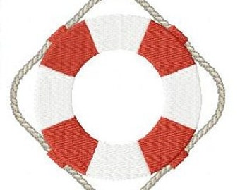Embroidery pattern - Life saver
