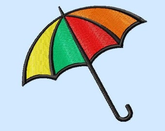 Embroidery pattern - Umbrella