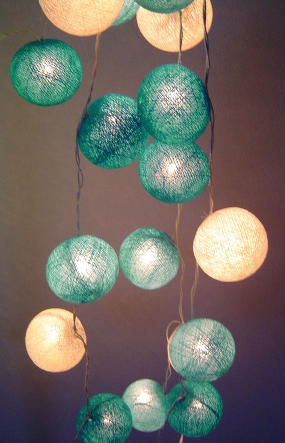 blue moon shades cotton ball battery by fairylightsthailand. Black Bedroom Furniture Sets. Home Design Ideas