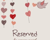 RESERVED FOR HANNAH A.