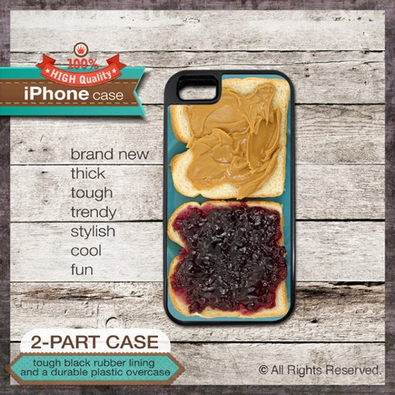 Peanut butter and Jelly design iPhone Case 136