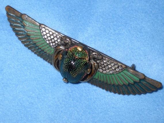 egyptian winged scarab - photo #31