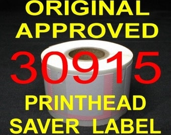 500 Postage Labels fits DYMO Stamps Endicia 30915 - USA Made & BPA Free