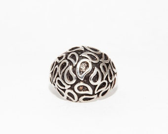 Sterling SIlver Pasley Ring Size 7