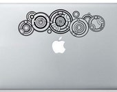 Dr. Who's Gallifreyan Name From the show Doctor Who Vinyl Decal for your car, truck or laptop.