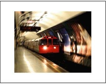 London Tube - matted 8x10 print