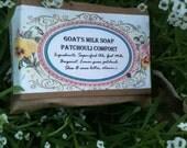 Patchouli Comfort Goat's Milk Soap Bar
