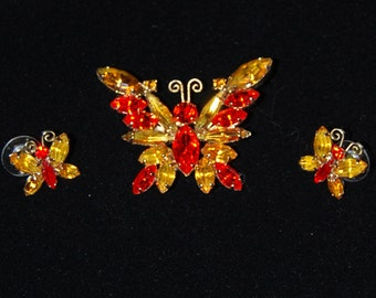 juliana butterfly pin and brooch