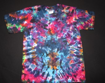 Y29 Psychedelic Cool-Kids Youth/Child Size Large Tie Dye T-shirt*