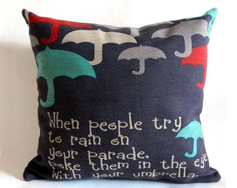 Popular items for quote pillows on Etsy - Words And Quotes Pillow Designs