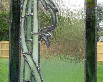 Stained Glass: Bamboo panel