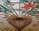 Lovely Vintage Asian Parasol