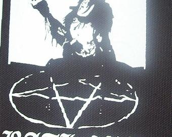 BATHORY quorthon patch black metal Free Shipping