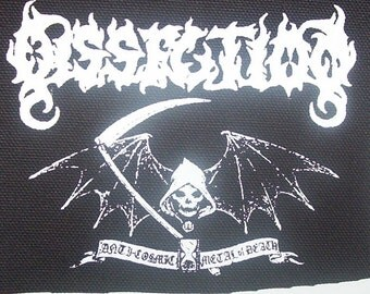 DISSECTION reaper patch black metal Free Shipping