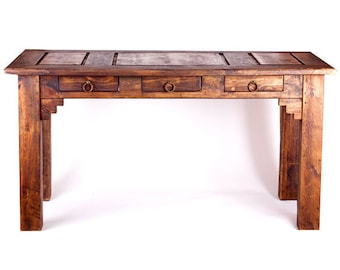 Wood Rustic Desk