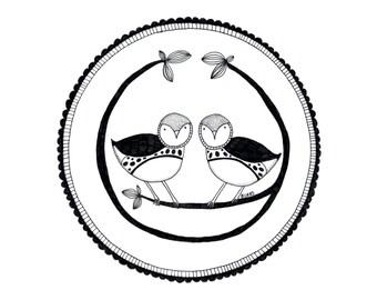Songbirds Illustration