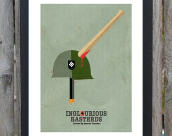 inglourious basterds minimalist movie poster