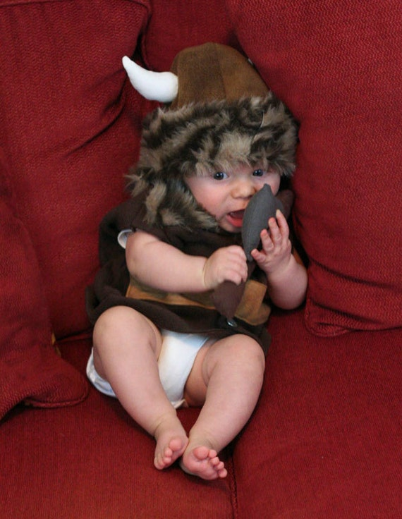 Baby Viking Outfit By Designstmk On Etsy
