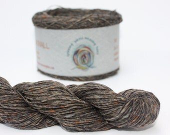 Spinning Yarns Weaving Tales - Tirchonaill 510 Grey 100% Merino for Knitting, Crochet, Warp & Weft