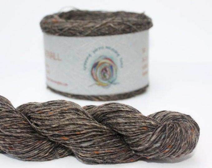 Spinning Yarns Weaving Tales - Tirchonaill 510 Grey 100% Merino for Knitting, Crochet, Warp & Weft