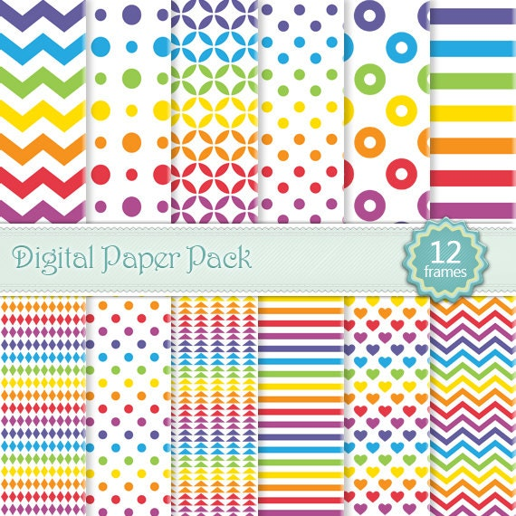 Colorful Dots Pattern Pattern Paper Polka Dots