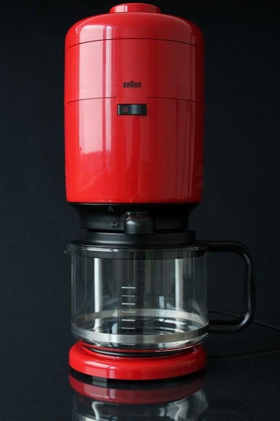 Braun Coffee Maker How To Use : 1970s BRAUN KF20 Aromaster Coffee Maker Mid by cobaltblau2013
