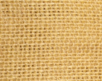 """47""""- 48"""" Inch Butter Colored Burlap Roll (35 Yards)"""