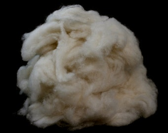 De-Haired White Chinese Cashmere Down - Spinning Fibre / Fiber - Felting