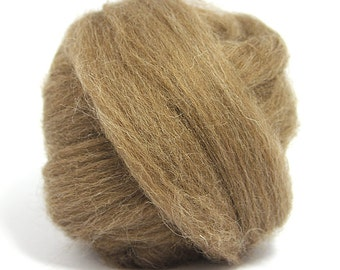 Brown Finnish Top / Roving - Felting - Spinning - Crafts - 100g / 3.5oz