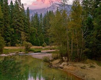 Half Dome Yosemite, Nature Photography, Yosemite, Landscape Photography, National Park, California, Mountain View,  Half Dome Sunset,