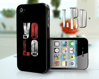 iPhone 4 4s Case - YOLO iP4