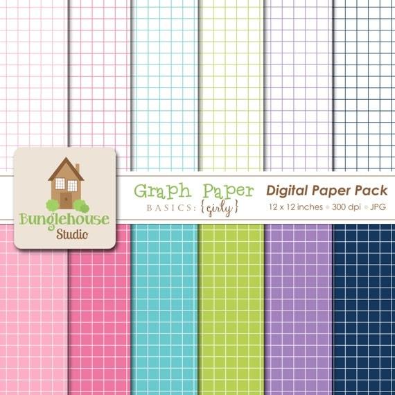 Digital Graph Paper Instant Download – Digital Graph Paper