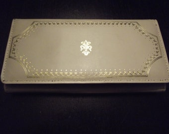 Vintage Creme Wallet Clutch