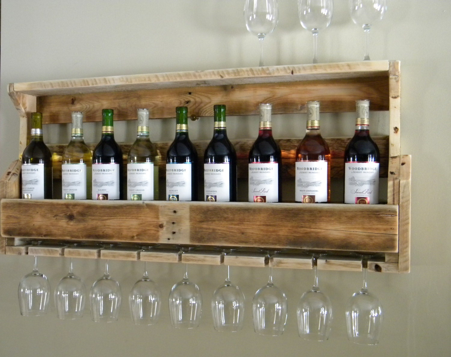 Awesome Wine Rack Made From Recycled Pallet Recycled Things