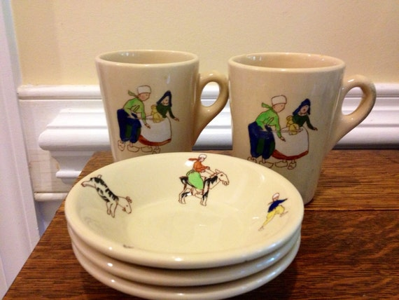 Adobe Ware Syracuse China Dutch Children