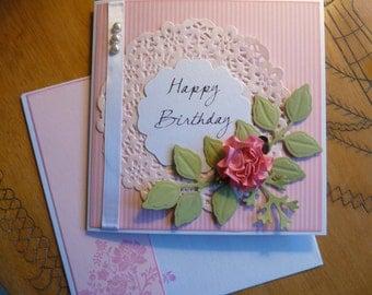 HANDMADE Greeting Card - BIRTHDAY Card