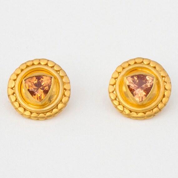 Roman Beauty Earrings, 16 mm diameter