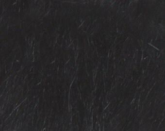 Longhair fur black