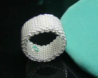 SiLvEr MeSh RiNg SiZe 9