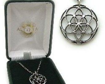 The Seed of Life Pendant Necklace