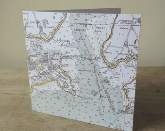 Art Card:  Falmouth Chart