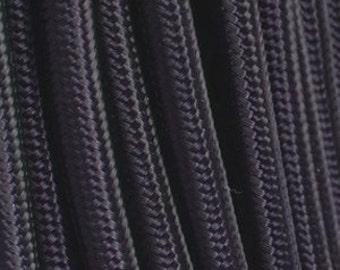 Black textile cable 2 son - 0.75 mm