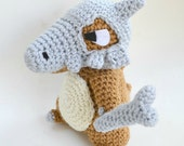 Cubone plush Pokemon doll amigurumi crochet