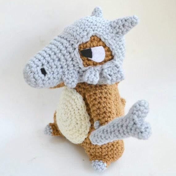 Snap Cubone amigurumi pattern Pokemon crochet Awesome, Patterns and ...