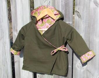 Children's Hoodie Jacket Size 3