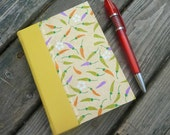 Small Hardcover Journal with mixed papers
