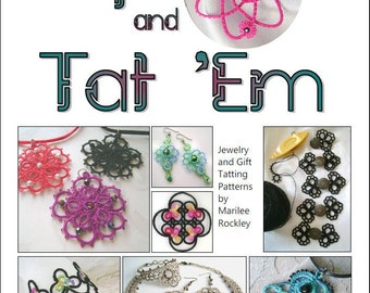 "Shuttle Tatting eBook ""Up and Tat 'Em"" PDF Instant Download"