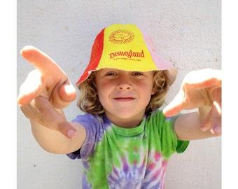 Vintage Disneyland Beach Hat - Childs Disneyland Hat