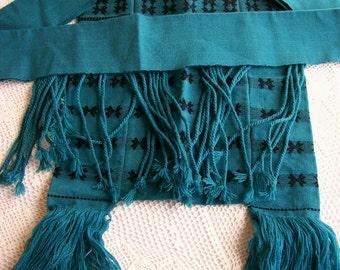 Vintage Guatemalan Textile Bag Purse Shoulder Tote Boho Hippie Accessories